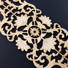 Load image into Gallery viewer, Moroccan Decorative Laser Cut Craft Wood Work Border Panel (B-006)