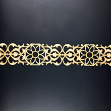 Load image into Gallery viewer, Moroccan Decorative Laser Cut Craft Wood Work Border Panel (B-020)