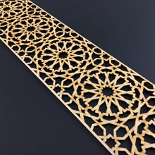 Load image into Gallery viewer, Moroccan Decorative Laser Cut Craft Wood Work Border Panel (B-030)