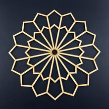 Load image into Gallery viewer, Decorative Laser Cut Wood Work Craft Center Piece Ornament (O-016)