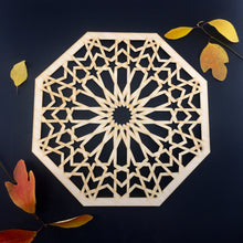 Load image into Gallery viewer, Decorative Laser Cut Wood Work Craft Center Piece Ornament (O-032)