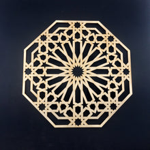Load image into Gallery viewer, Decorative Laser Cut Wood Work Craft Center Piece Ornament (O-033)