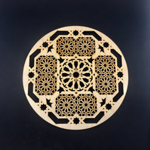 Load image into Gallery viewer, Decorative Laser Cut Wood Work Craft Center Piece Ornament (O-034)