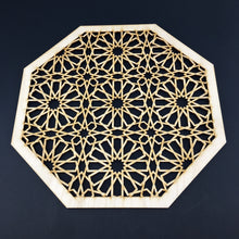 Load image into Gallery viewer, Decorative Laser Cut Wood Work Craft Center Piece Ornament (O-035)