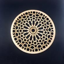 Load image into Gallery viewer, Decorative Laser Cut Wood Work Craft Center Piece Ornament (O-036)