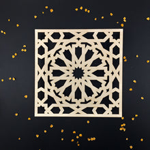 Load image into Gallery viewer, Decorative Laser Cut Wood Work Craft Center Piece Ornament (O-038)