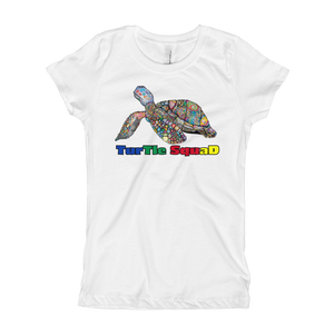 Girls Turtle Squad Tee