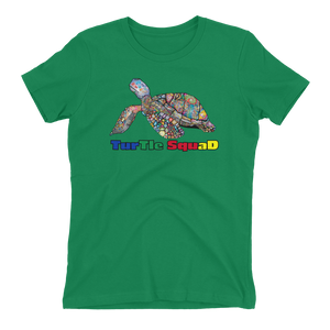 Ladies Turtle Squad Tee