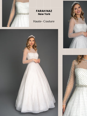Crystals Bridal Gown