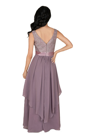 Chiffon Double layers Gown