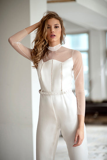 Double Silk Jump Suit