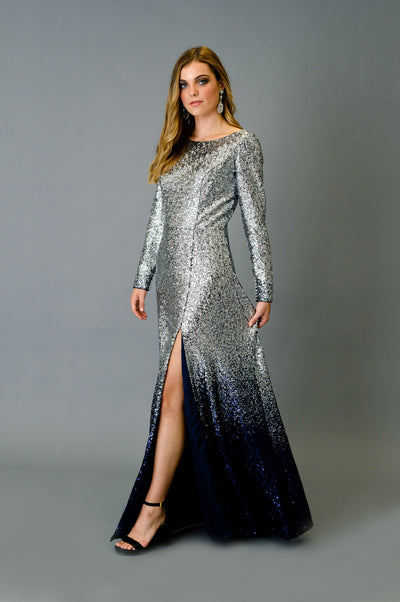 Evening Sequins Gown