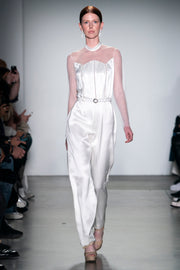 Ready-to-Wear Double Silk Jump Suit