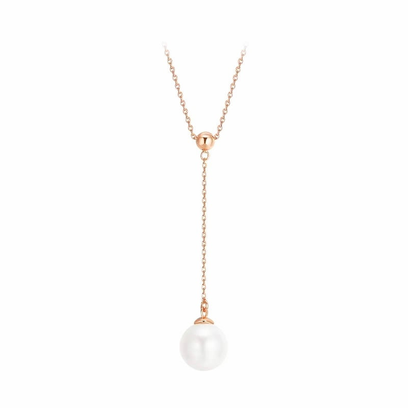 fresh pearl drop pendant