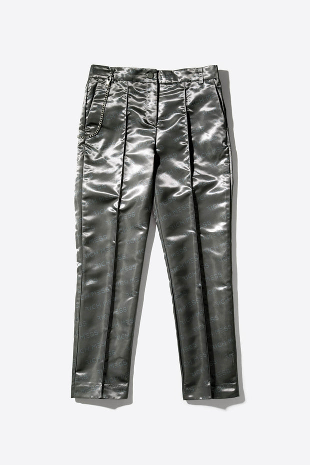 Cigarette Pant In Chrome