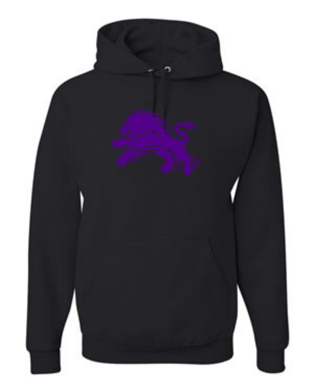 Dryden Football Hoodie- 1 Color Image