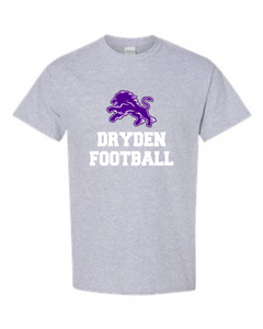 Dryden Football Tee Grey- 2 Color Image