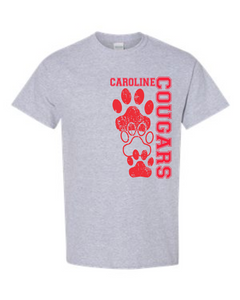 Grey Cougars Tee