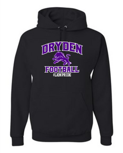 Dryden Small Fry Football Hoodie