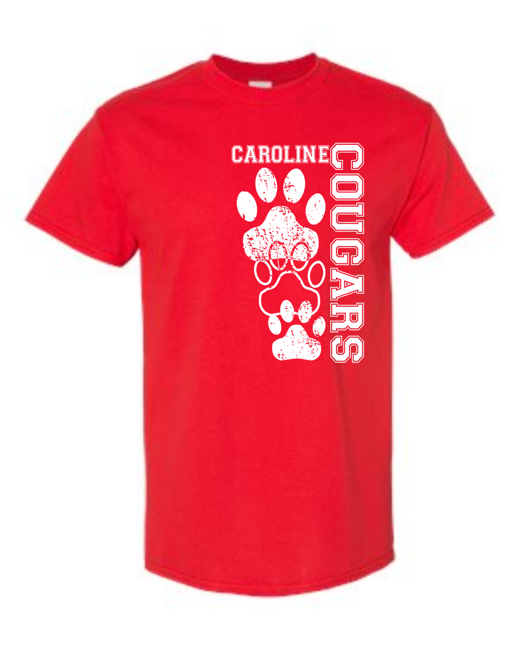 Red Cougars Tee