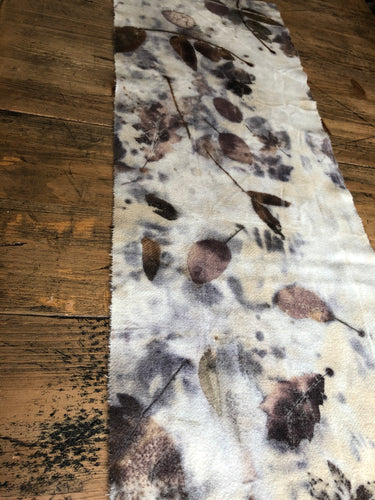 Ecodyed wool runner #1