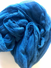 Blue cheesecloth