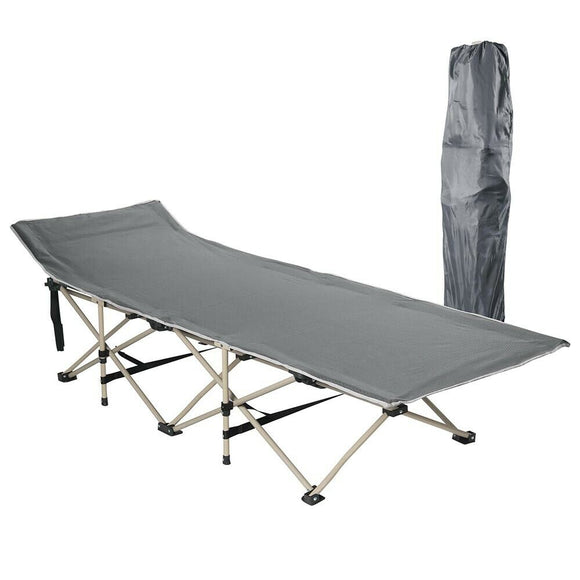 (A4) Folding Cot Camping Bed (07-COT003)