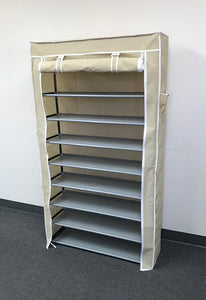 (E2) Shoe Rack, Cream (HR-006C)