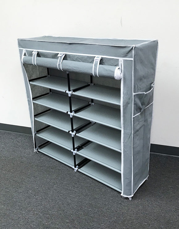 (E3) Shoe Rack, Grey (HR-007G)