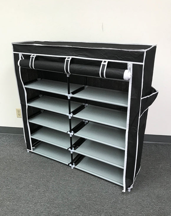 (E3) Shoe Rack, Black (HR-007B)