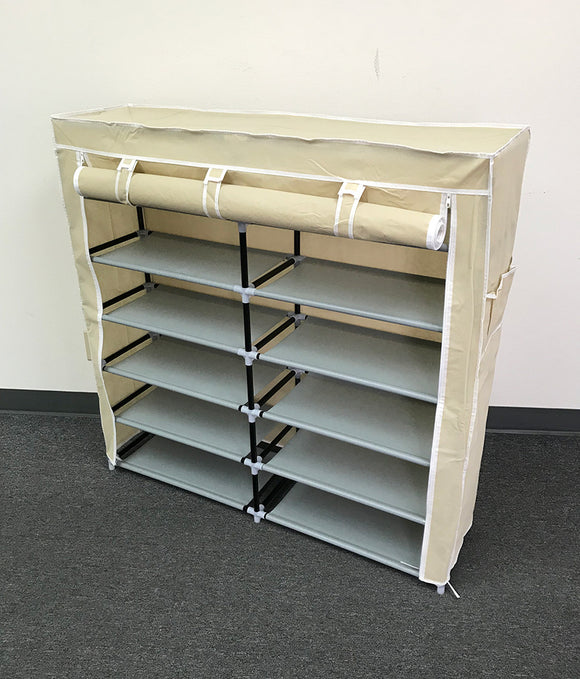 (E3) Shoe Rack, Cream (HR-007C)