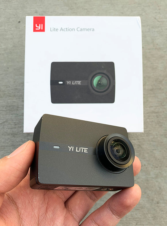 (D2) YI Lite 4K Action Camera (YI-ActionCamera)