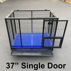 "() 37"" Dog Cage, Single Door (PD-061)"