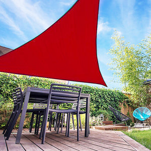 () Sail 23x16x16' Triangle, Red (ZZ-23x16x16Red)