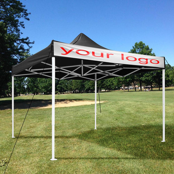 (B10) 10x10 Canopy no Wall, Black (07-CAN001-06)