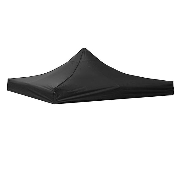 (B1) 10x10' Replacement Canopy Cover, Black (07-CTP003-06)