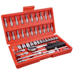 (A7) 46pcs Socket Tool Set (25-SOC001)