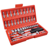 (A4) 46pcs Socket Tool Set (25-SOC001)