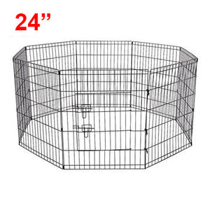 "(C07) 24"" Dog Playpen, Wire (PD-011)"