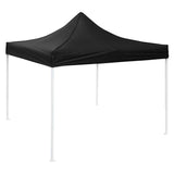 (A2) 10x10 Canopy no Wall, Black (07-CAN001-06)
