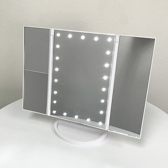 (C6) X-Small Mirror White (BM-101W)