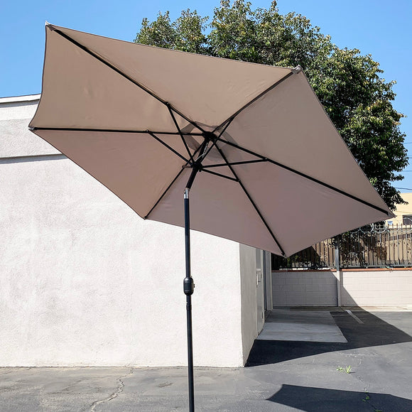 () 10ft Umbrella, Beige (GU-033T)