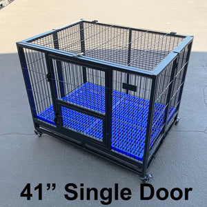 "() 41"" Dog Cage, Single Door (PD-063)"