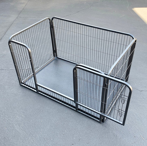 () Large Dog Playpen with Tray (PD-034)