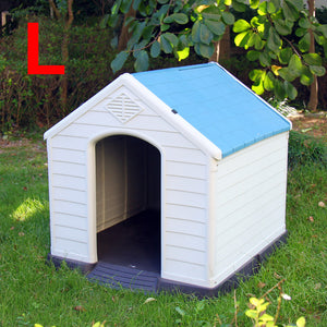 () Large Dog House, Blue (PD-054)
