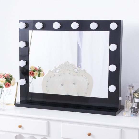 (G5) X-Large Mirror, Black (BM-002B)