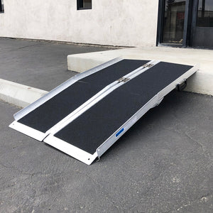 (B6) 4ft Wheel Chair Ramp, Black (TKH-003)