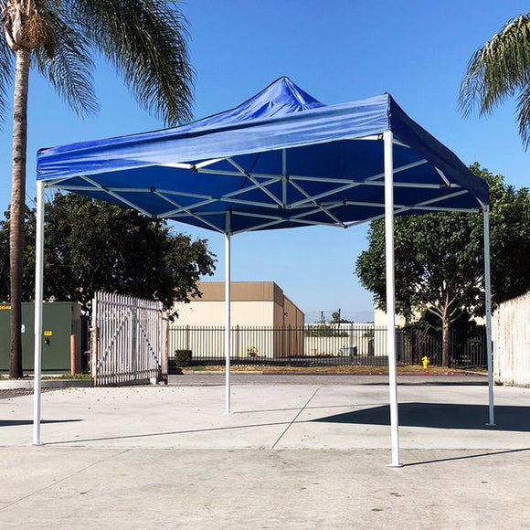 () 10x10 Canopy no Wall, Blue (07-CAN001-03)