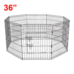 "(D3) 36"" Dog Playpen, Wire (PD-013)"