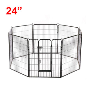 "(D5) 24"" Dog Playpen, Heavy Duty (PD-021)"